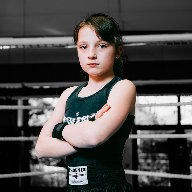 Julie-Zgonec, Fighter Muay Thai Duisburg, 2017