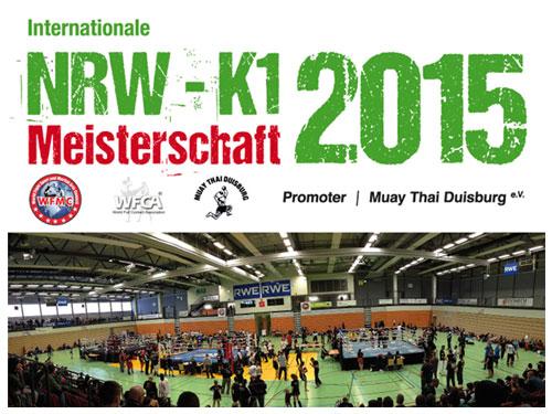 Internationale NRW K1 Meisterschaft 2015