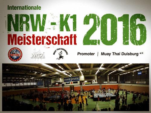 NRW K1 Meisterschaft 2016