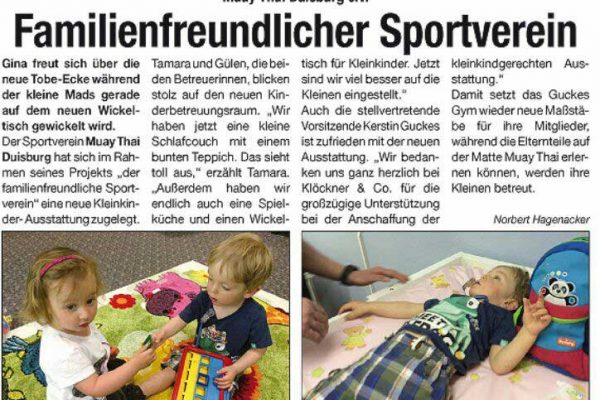 Familienfreundlicher Sportverein