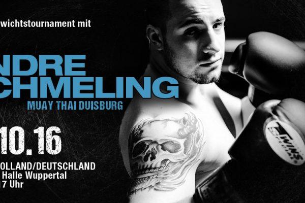 Andre Schmeling, Schwergewichts-Tournament 01.10.16 Wuppertal