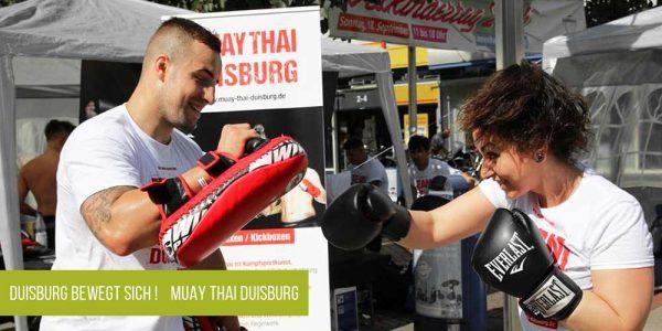 Duisburg bewegt sich! Muay Thai Duisburg
