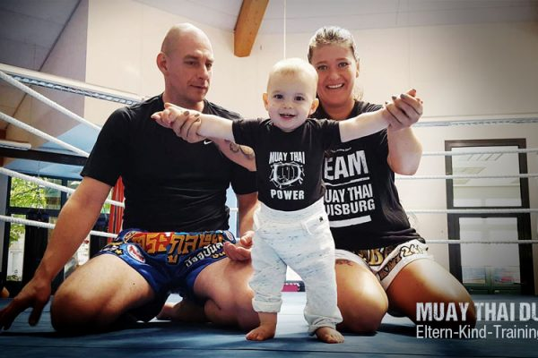 Eltern-Kind-Training beim Muay Thai Duisburg