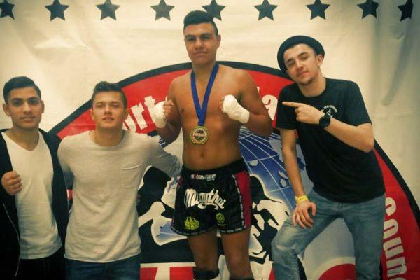 Manchester - WFMC Weltmeisterschaftstitel für den Muay Thai Duisburg