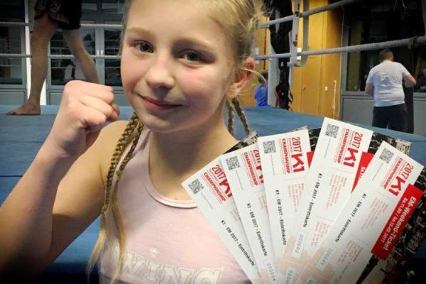 Vorverkauf Eintrittskarten K1 EM 2017, Muay Thai Duisburg
