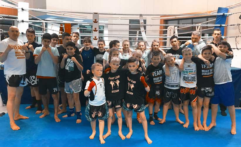 Sparring mit dem Fight Club Essen