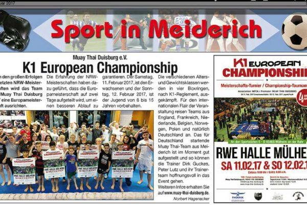 Sport in Meiderich - EM2017