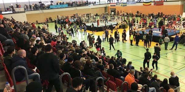 K1 European Championship 2017, Audience, Rings