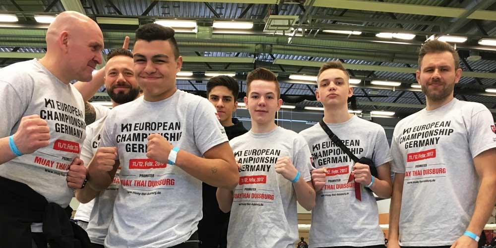 K1 European Championship 2017, Muay Thai Duisburg