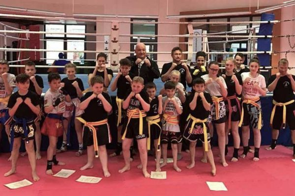 Kickboxprüfung März 2017