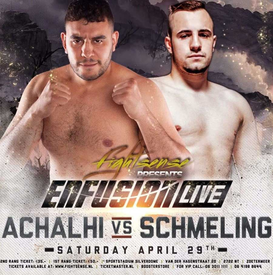 Achalhi vs. Schmeling, April 2017