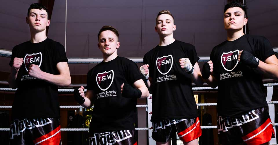 TSM-Security Sponsor des Muay Thai Duisburg