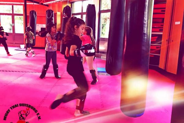 Kindertraining Muay Thai Duisburg