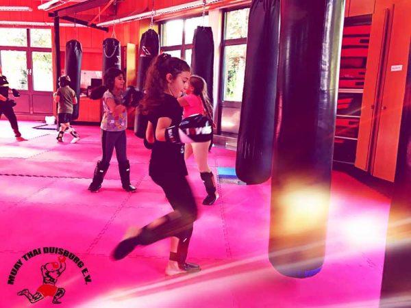Kindertraining Muay Thai Duisburg