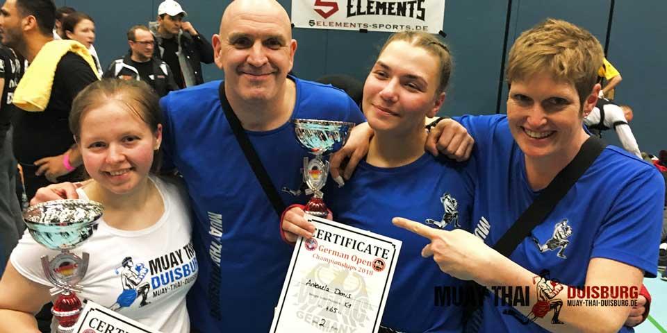 german open 2018, Muay Thai Duisburg