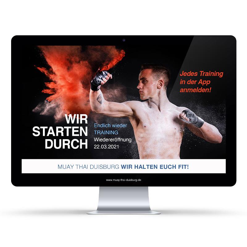 Wir starten durch! Muay Thai Duisburg